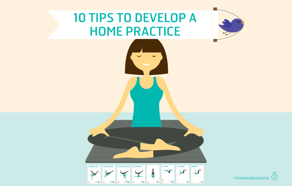 10 tips for developing a home yoga practice