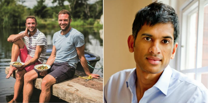 Dr Rangan Chatterjee and The Happy Pear in conversation with Sue Leonard