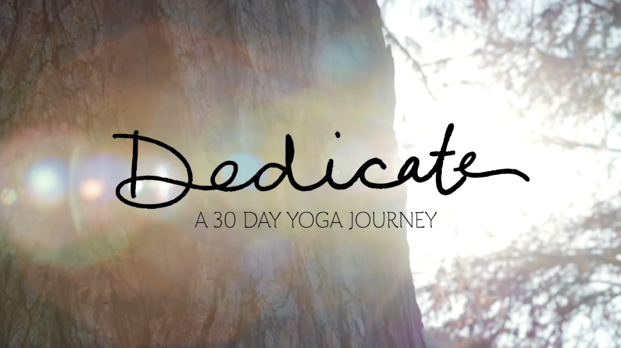 A 30 day yoga journey with Yoga With Adriene