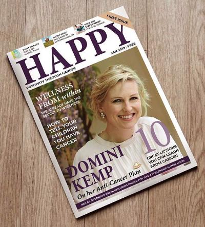 Happy Magazine print edition – Where to get it