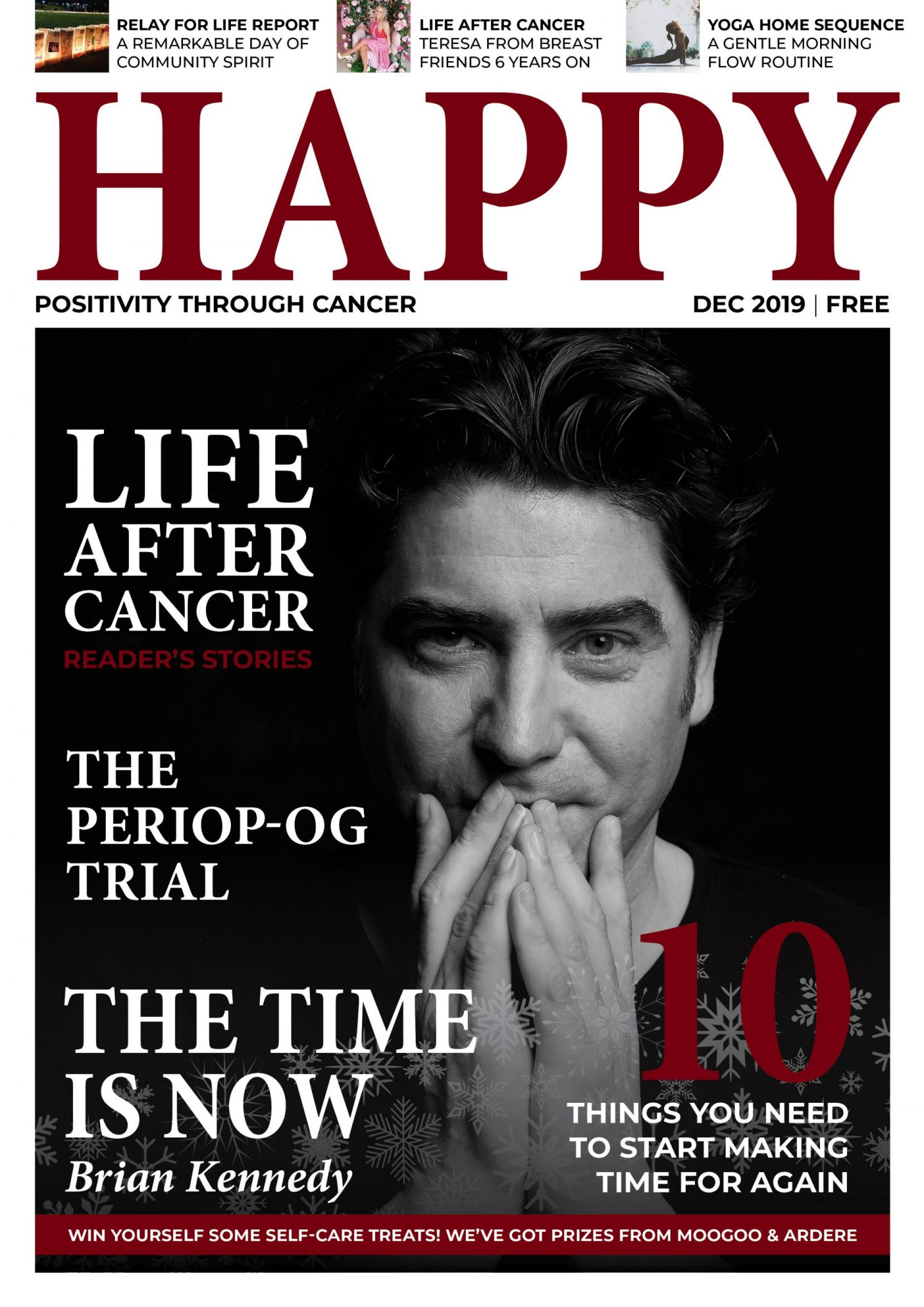 IT'S HERE! Issue 3 of Happy Magazine is out now
